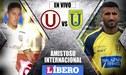 Universitario vs Universidad de Concepción EN VIVO por partido amistoso en Chile