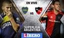 Boca Juniors vs Newells EN VIVO por la Superliga Argentina