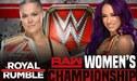 WWE Royal Rumble 2019 EN VIVO: Ronda Rousey vs Sasha Banks por el campeonato femenino