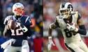 New England Patriots y Los Angeles Rams serán los protagonistas del Super Bowl de este domingo