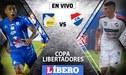 Delfín vs. Nacional EN VIVO por la primera fase de la Copa Libertadores