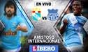 Sporting Cristal vs Emelec EN VIVO: Partido amistoso internacional por la 'Explosión Azul'