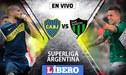 Boca Juniors vs San Martín San Juan EN VIVO ONLINE; día, hora y canal por la Superliga Argentina