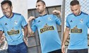 Sporting Cristal presentó su camiseta oficial que se estrenará en el 'Día de la Raza Celeste' [FOTOS]