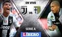 Juventus vs Parma EN VIVO ONLINE: La 'Vecchia Signora' buscará cobrarse su revancha tras caer eliminados en la Copa Italia