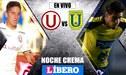 Universitario vs U de Concepción EN VIVO: partidazo por la Noche Crema 2019