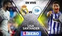 Real Madrid vs Alavés EN VIVO EN DIRECTO por la fecha 22 de la Liga Santander