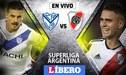 River Plate vs Vélez Sarsfield EN VIVO por la jornada 17 de la Superliga Argentina