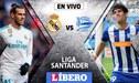 Real Madrid vs Deportivo Alavés EN VIVO: 'Merengues' salen por una nueva alegría en LaLiga [GUÍA DE TV]