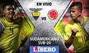 Ecuador empata 0 a 0 contra Colombia  por el hexagonal final del Sudamericano Sub 20