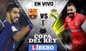 EN VIVO │ Barcelona vs Real Madrid por Copa del Rey [PRONÓSTICOS]