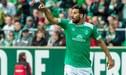 Claudio Pizarro y el récord que consiguió en la Copa de Alemania