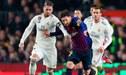 Barcelona igualó 1-1 con Real Madrid en el primer clásico del 2019 por la Copa del Rey [VIDEO]
