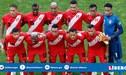 Selección peruana se mantiene en el puesto 20 del ranking mundial FIFA