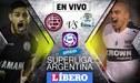 CA Lanús vs Gimnasia y Esgrima La Plata EN VIVO por la Superliga Argentina con Alexi Gómez de titular
