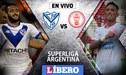 Vélez vs Huracán EN VIVO: con Luis Abram por la Jornada 18 de la Superliga Argentina
