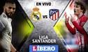 Real Madrid vs Atlético de Madrid EN VIVO EN DIRECTO: hora, día y canal desde el Wanda Metropoliano por la LaLiga