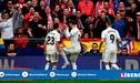 Real Madrid vs Atlético de Madrid EN VIVO: Sergio Ramos anota el 2-1 de penal tras falta a Vinicius Junior [VIDEO]