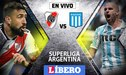 River Plate vs Racing Club EN VIVO: Chocan por la Superliga Argentina