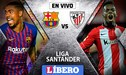 Barcelona 0-0 Athletic Bilbao EN VIVO: Con Lionel Messi, 'culés' igualan por La Liga Santander