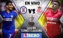 VER GRATIS Cruz Azul vs Toluca EN VIVO por Torneo Clausura 2019