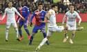 Carlos Zambrano sigue destacando en Suiza y volvió a ser titular en el Basilea [FOTO]