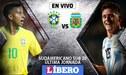 Argentina vs Brasil EN VIVO: la 'Canarinha' va por el milagro en la última jornada del Sudamericano Sub 20
