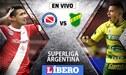 Argentinos Juniors vs Defensa y Justicia EN VIVO: choque de infarto por la fecha 18 de la Superliga Argentina