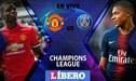 Manchester United vs PSG EN VIVO: 'Diablos Rojos' igualan 0-0 en octavos de la Champions League