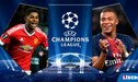 Manchester United vs PSG [EN VIVO] 0 -0 por octavos de final de la UEFA Champions League