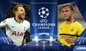 Tottenham vs Borussia Dortmund EN VIVO: partidazo por los octavos de la Champions League