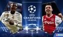 Real Madrid vs Ajax EN VIVO ONLINE: Horario y canal del partido por Champions League 2019