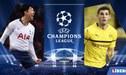 HOY Tottenham vs Borussia Dortmund EN VIVO ONLINE por la Champions League