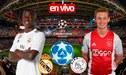 ► EN VIVO| Sigue aquí el Real Madrid empata 1-1 con el Ajax por la Champions: guía de canales TV
