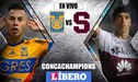 Tigres vs Saprissa EN VIVO 0 - 0 por los octavos de final de la Concachampions