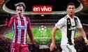 ► Sigue AQUÍ Atlético Madrid vs Juventus EN VIVO ONLINE vía ESPN: Con Cristiano Ronaldo, ¿cómo, dónde y cuándo ver hoy los octavos de Champions? | GUÍA TV