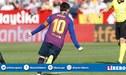 Barcelona vs Sevilla EN VIVO: 'Hat-trick' de Lionel Messi para el 3-2 en el Sánchez Pizjuán [VIDEO]