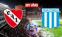 EN VIVO Independiente empata 1 a 1 ante Racing por partidazo de la Superliga Argentina