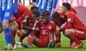 Kingsley Coman revive su calvario y es baja indefinida en el Bayern Múnich