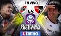 Ver EN VIVO River Plate vs Newell's Old Boys por la Superliga Argentina