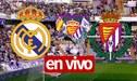 Real Madrid vs Real Valladolid 1-1 EN VIVO ONLINE ESPN 2 y Sky Sports: ¡Alineaciones confirmadas! Guía de canales