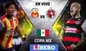 Morelia, con Flores, Sandoval y Ávila, perdió 1-0 con Tijuana y fue eliminado de la Copa MX