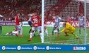 Alianza Lima vs Internacional: Espectacular atajada de Lomba que le niega el gol a Adrián Ugarriza [VIDEO]