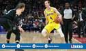 NBA: Los Ángeles Lakers cayeron ante Pistons sin LeBron James