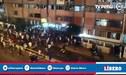 Lamentable: Hinchas de Alianza Lima se enfrentaron en Matute por el control de las entradas [VIDEO]