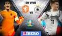 Alemania vs Holanda EN VIVO: chocan en partidazo por Eliminatorias a Eurocopa 2020