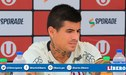 Armando Alfageme sufrió fractura de tabique y no estará ante Deportivo Binacional