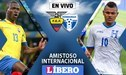 Ecuador 0-0 Honduras EN VIVO: Dónde y cuándo ver el amistoso internacional por Fecha FIFA