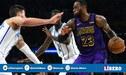 NBA: Los Ángeles Lakers con LeBron James alejan de los playoffs a los Hornets