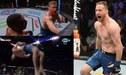 Devastador KO y celebración con salto mortal de 360° de Justin Gaethje sobre Edson Barboza en el UFC Filadelfia